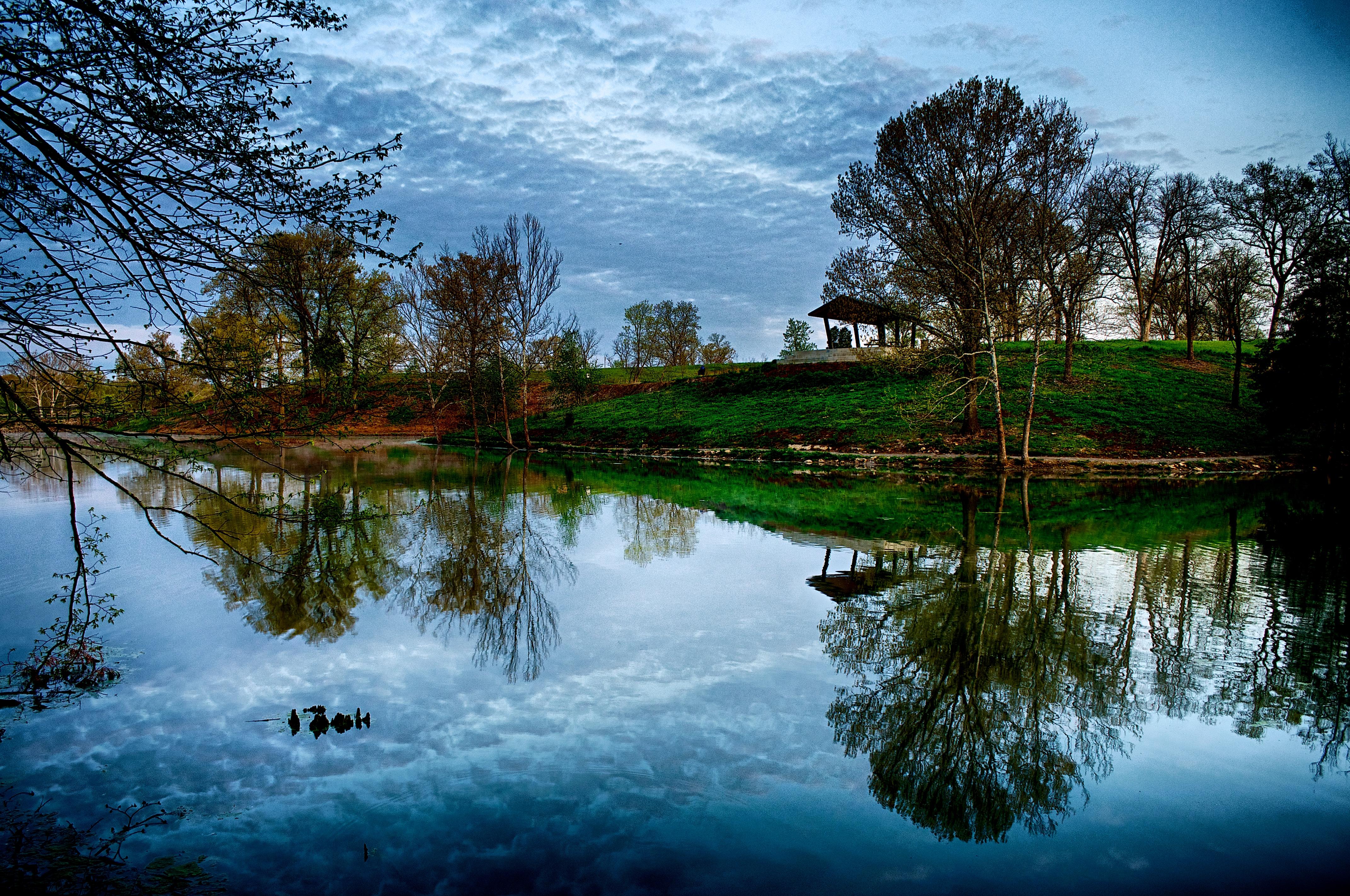 Miles Lake Morning #1