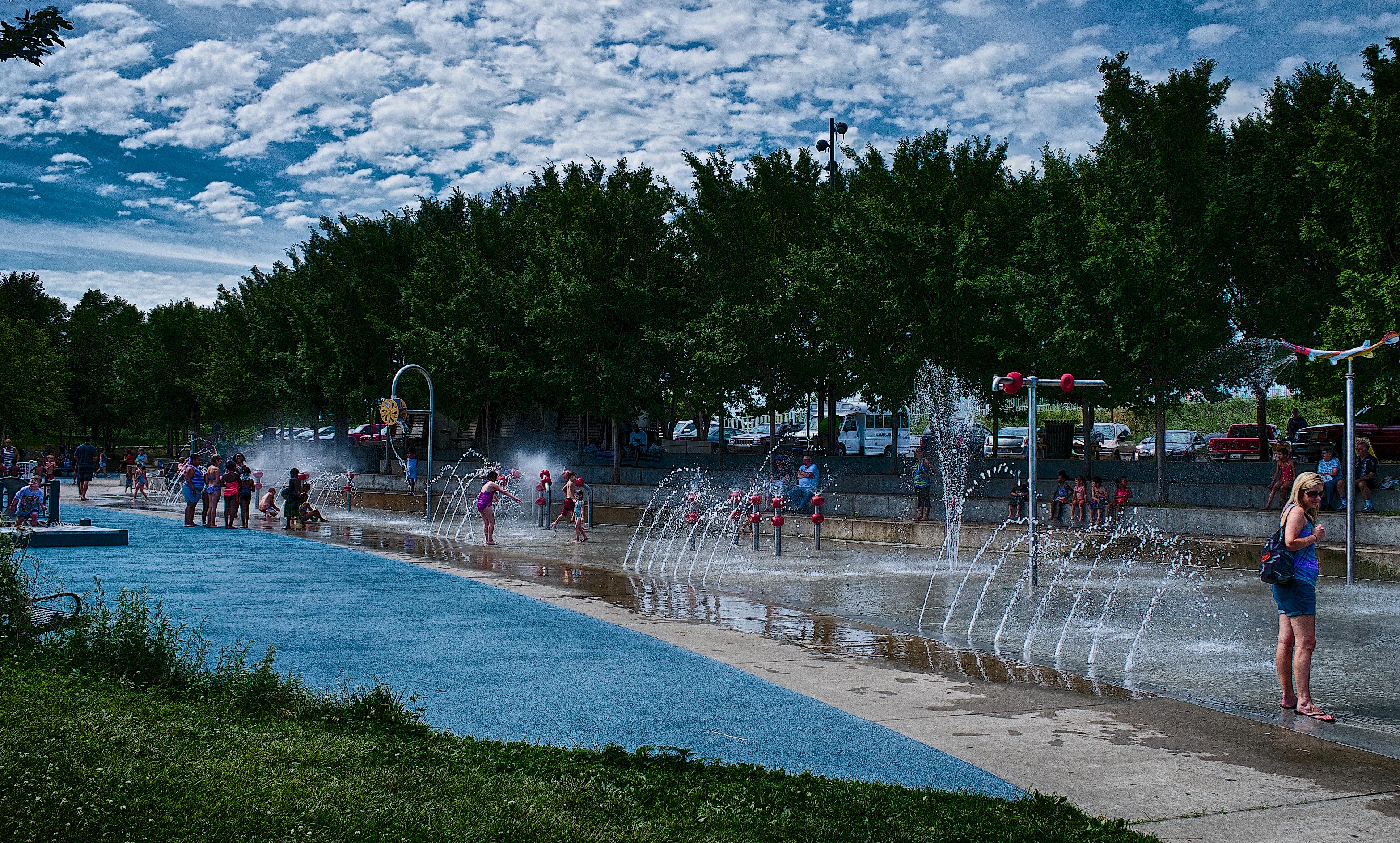 Waterfront Park Sprayground  #2