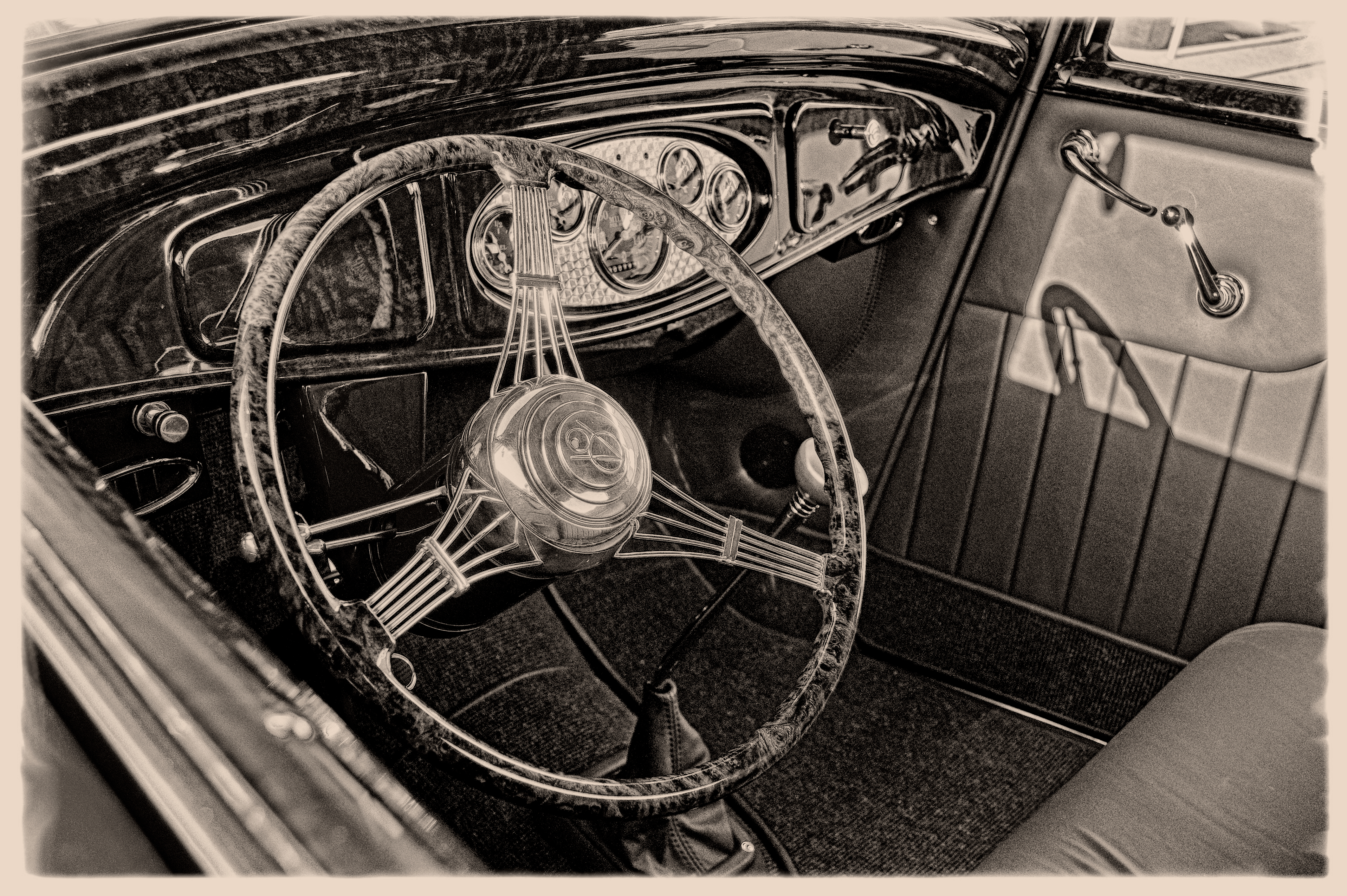 Deuce Coupe Interior #2