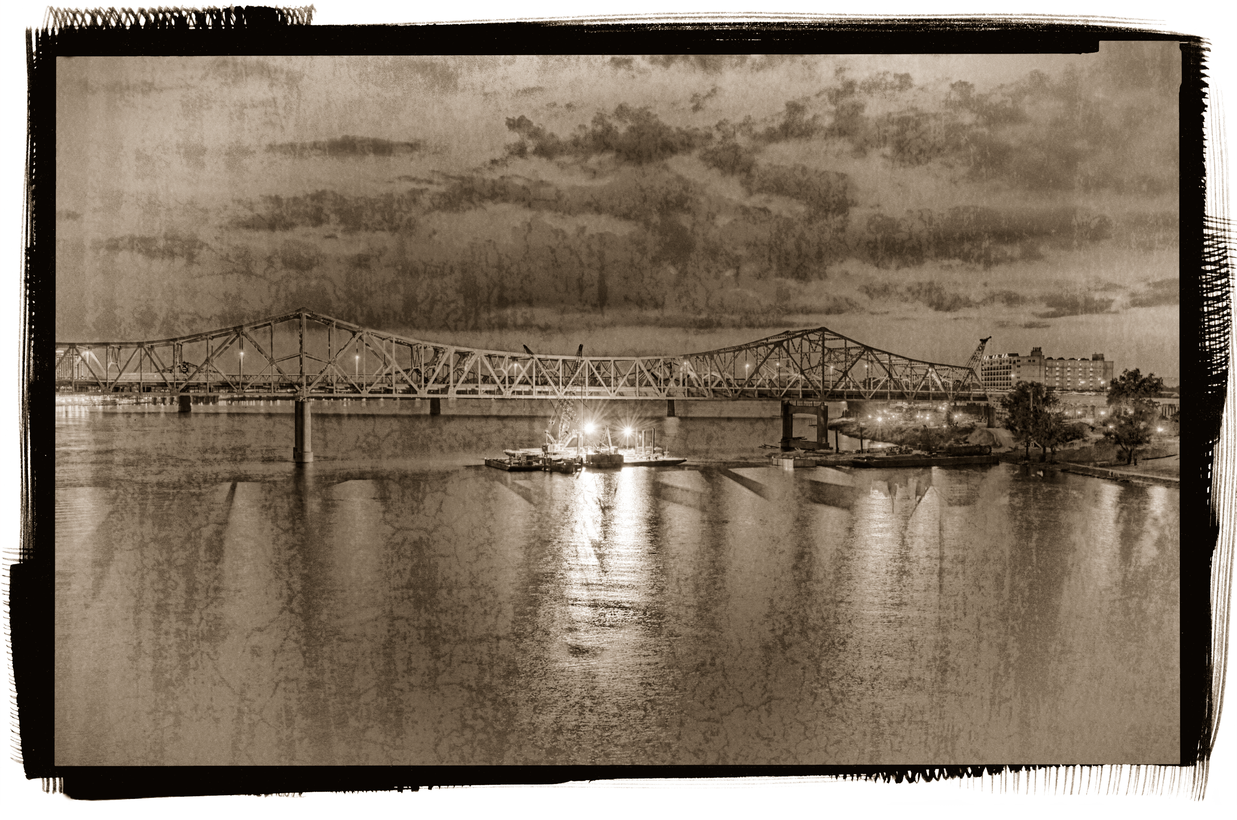 Ohio River Bridges Project Downtown Span #4