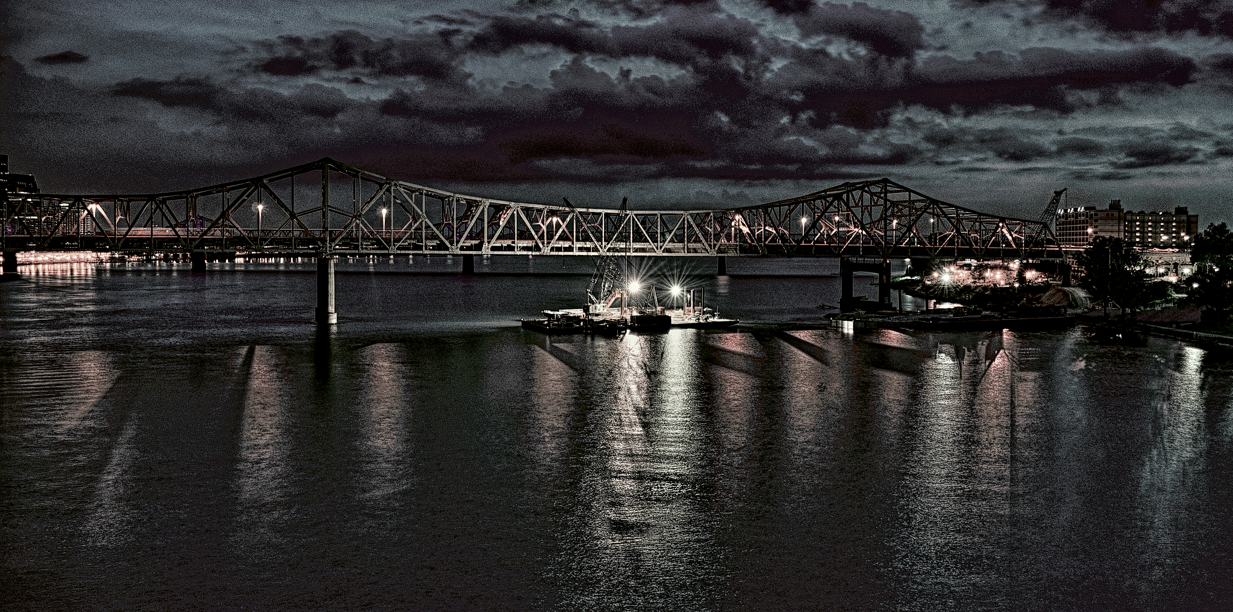 Ohio River Bridges Project Downtown Span #3