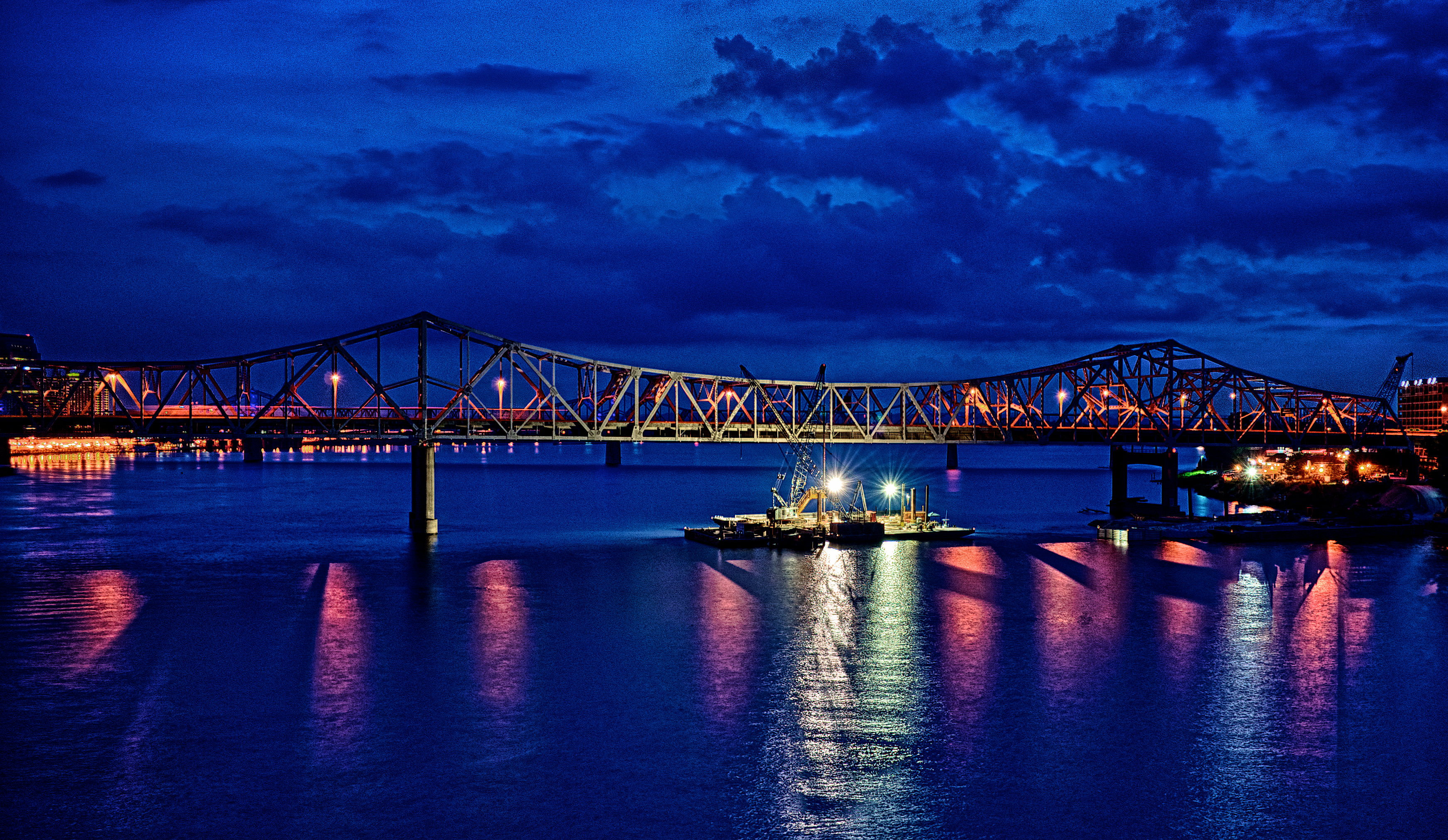 Ohio River Bridges Project Downtown Span #1