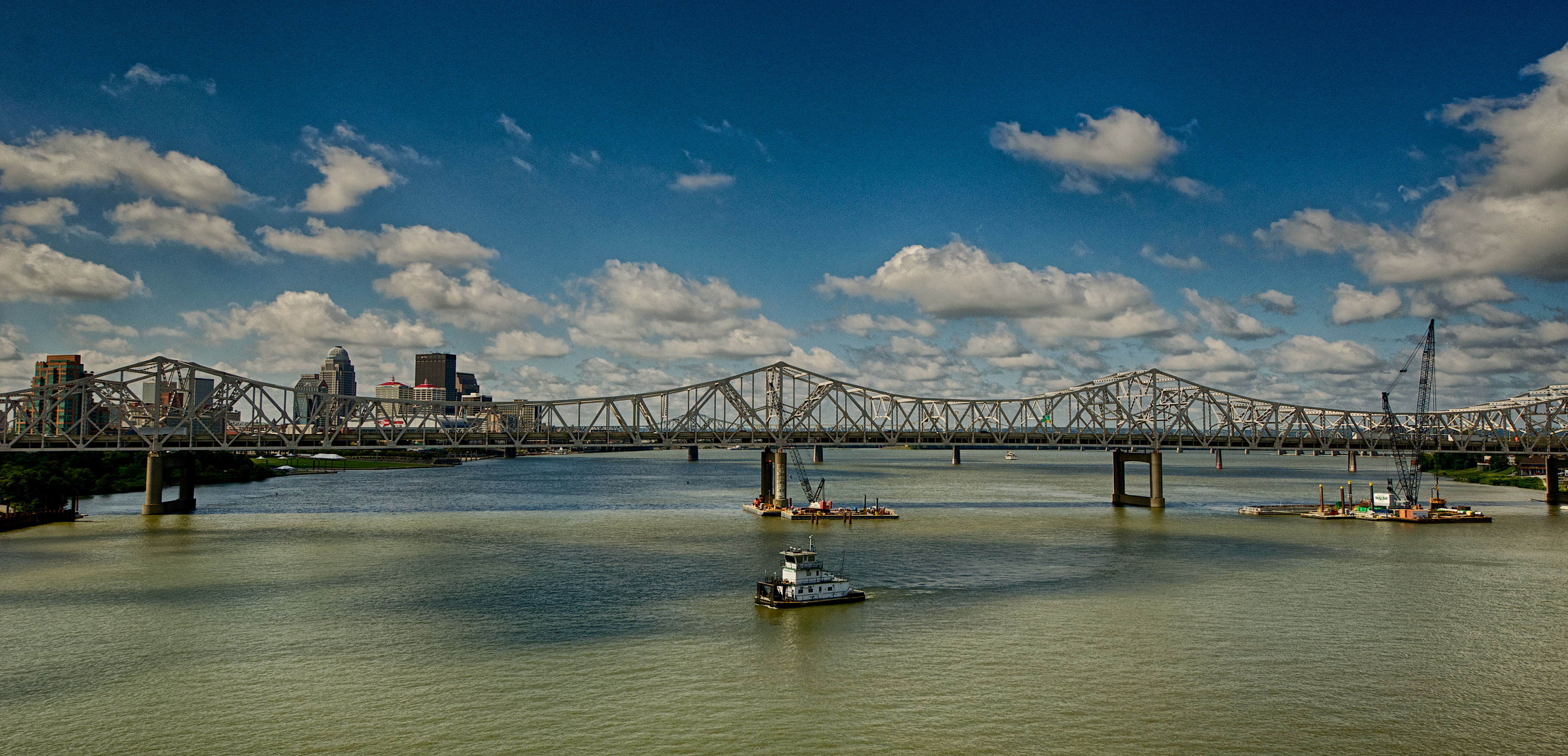 Saturday on the Ohio River Bridges Project