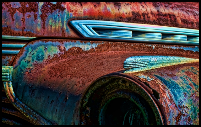 Rusty 1940 Chevrolet Detail #2