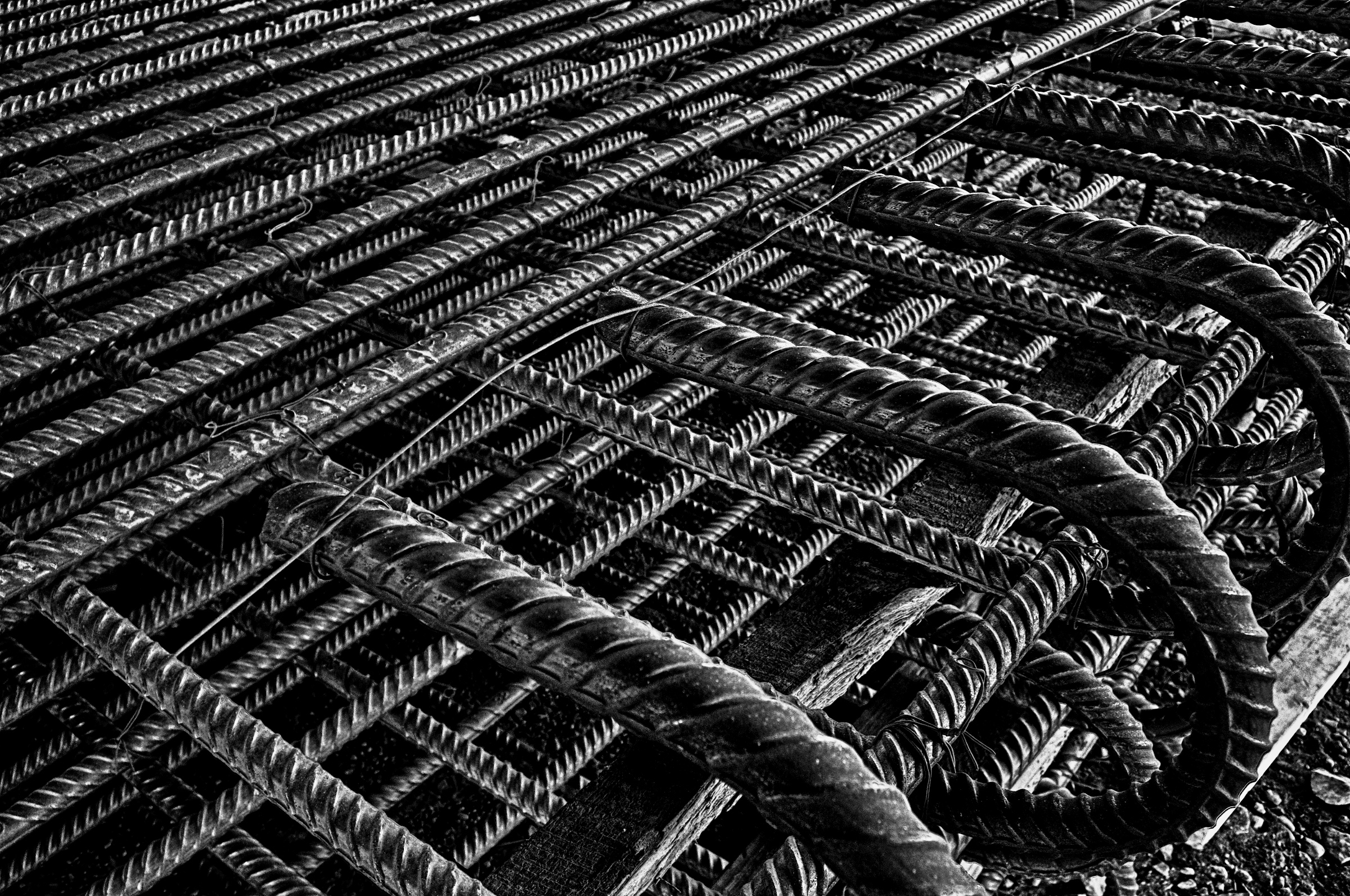 Rebar Assembly Closeup