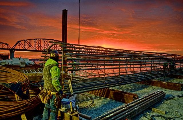 Ironworker's Sunrise